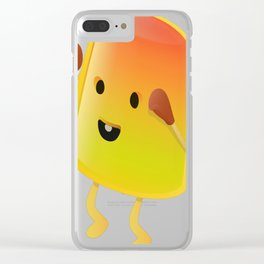 Jello fighter Clear iPhone Case