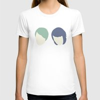 tegan and sara T-shirts featuring Tegan and Sarah by Drix Design