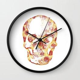 Pepperoni Head Wall Clock
