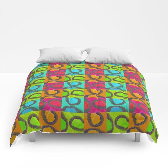 squares & curls Comforters
