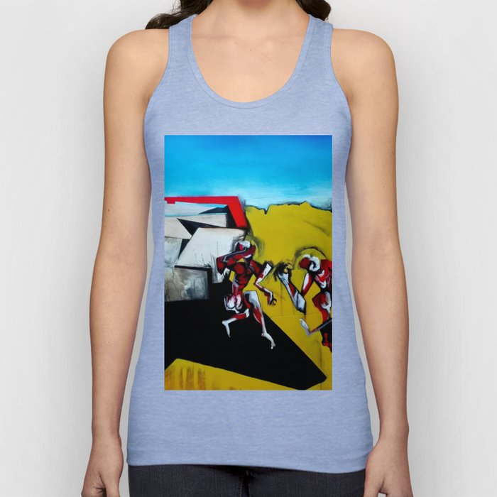 It's the Thinness of your Shadow Unisex Tank Top
