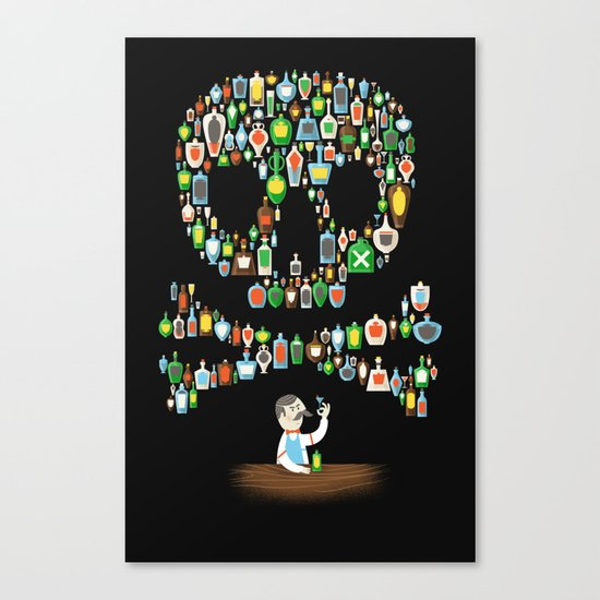 What's your poison? Canvas Print