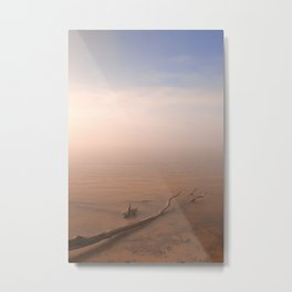 Misty Chesapeake Bay Metal Print