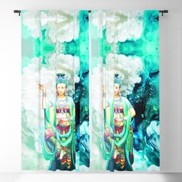 The Goddess of Mercy Blackout Curtain