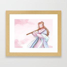 A Love Song Framed Art Print