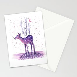 Rooted Deer Stationery Cards