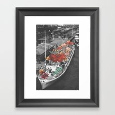 Imaginary Voyage Framed Art Print