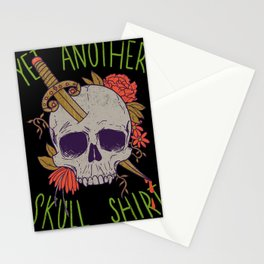 Yet Another Skull Shirt Stationery Cards