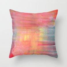 Sunset Background Throw Pillow