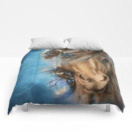 Pretty Blue  Comforters