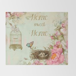Home Sweet home #4 Throw Blanket
