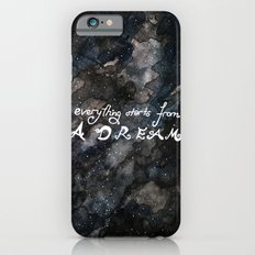 everything starts from a dream iPhone 6s Slim Case