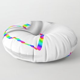 Hook heart Floor Pillow