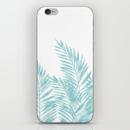 Palm Leaves Island Paradise iPhone Skin
