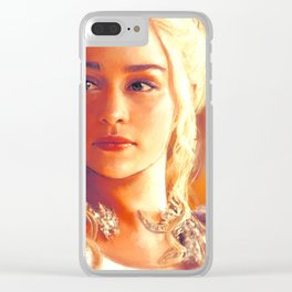 Dragon Queen Clear iPhone Case