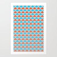zissou Art Prints featuring Zissou by formas