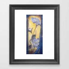Hepatica Framed Art Print