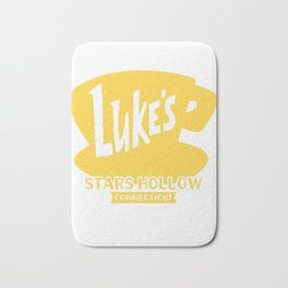 Gilmore Girls Shirt  Luke's Diner Shirt Bath Mat