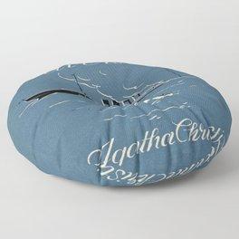 Agatha & her riddles Floor Pillow