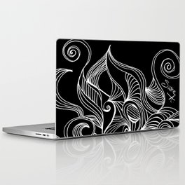 Abstract Line Drawings #4b Laptop & iPad Skin