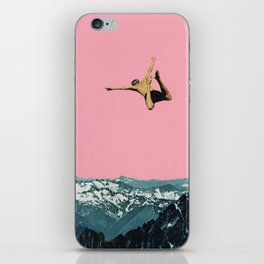 Higher Than Mountains iPhone Skin