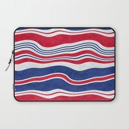 Horizontal wavy stripes.3 Laptop Sleeve