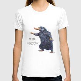 Niffler art Fantastic Beasts T-shirt