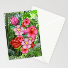 Flower Emoji Stationery Cards