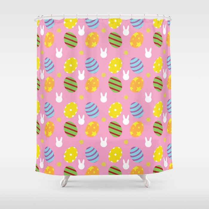 Easter Shower Curtain by leonardojmarques | Society6
