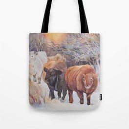 Three Cows Tote Bag