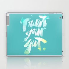 Trust your Gut Laptop & iPad Skin