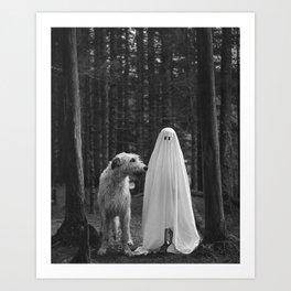 Boo! Art Print