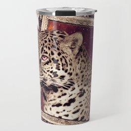Space Jaguar Travel Mug