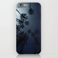 Palm Trees, Night Sky, Stars, Moon iPhone 6 Slim Case