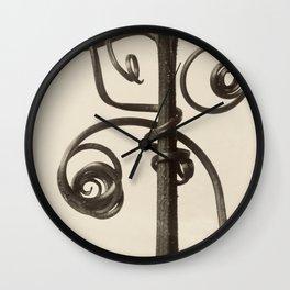 Karl Blossfeldt - Cucurbita Wall Clock