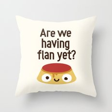The Proof Is In The Pudding Throw Pillow