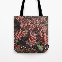 Bronze Graptostedum Tote Bag