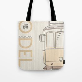 Trams of the world - Lisbon Tote Bag