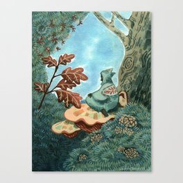 Someone who lives in a tree Canvas Print