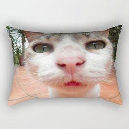 Frida the cat Rectangular Pillow