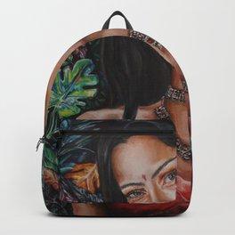 Meet me where the wild things grow Backpack