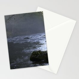 Fog on the Mckenzie River Stationery Cards