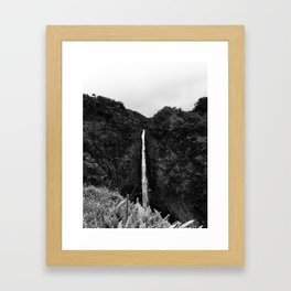Akaka Falls, Big Island, Hawaii Framed Art Print