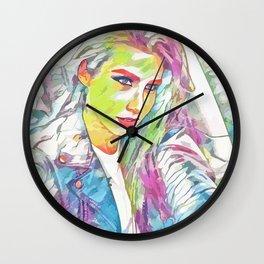 Cathy Topuria (Creative Illustration Art) Wall Clock