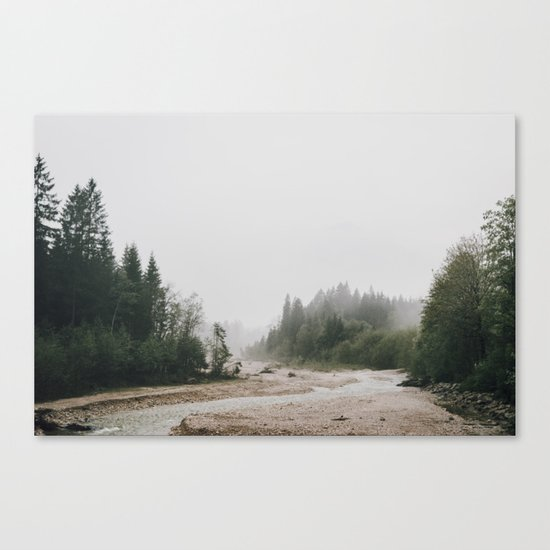 Riverside landscape photography Canvas Print