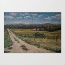 British Columbia 68/100 Canvas Print