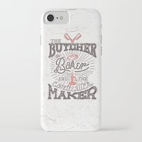 butcher billy iPhone & iPod Cases featuring The Butcher by Pilgrim