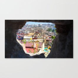 Hole in the Wall in Tangier, Morocco Canvas Print