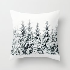 Snow Porn Throw Pillow