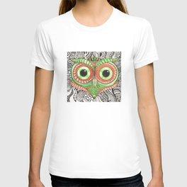 Ornamental Owl T-shirt